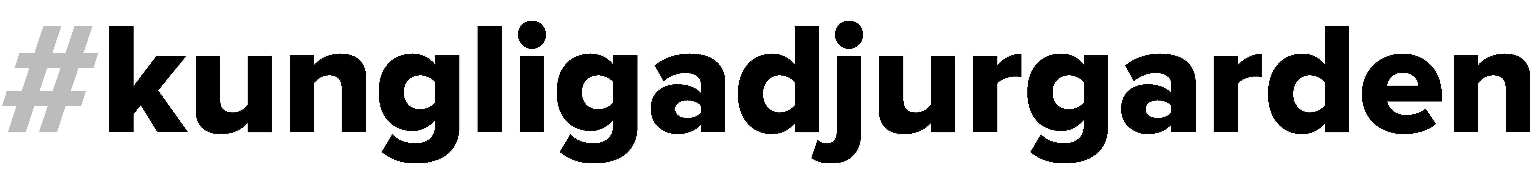 Logo #kungligadjurgarden - Kungliga Djurgården - En av världens vackraste stadsparker. - @kungligadjurgarden - kungligadjurgarden.com