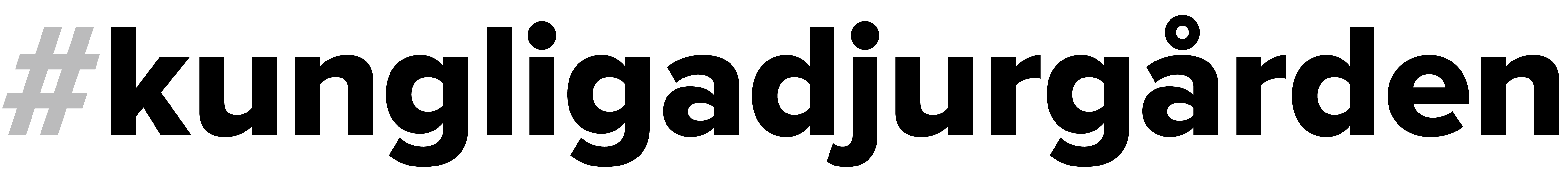 Logo #kungligadjurgården - Kungliga Djurgården - En av världens vackraste stadsparker. - @kungligadjurgarden - kungligadjurgarden.com