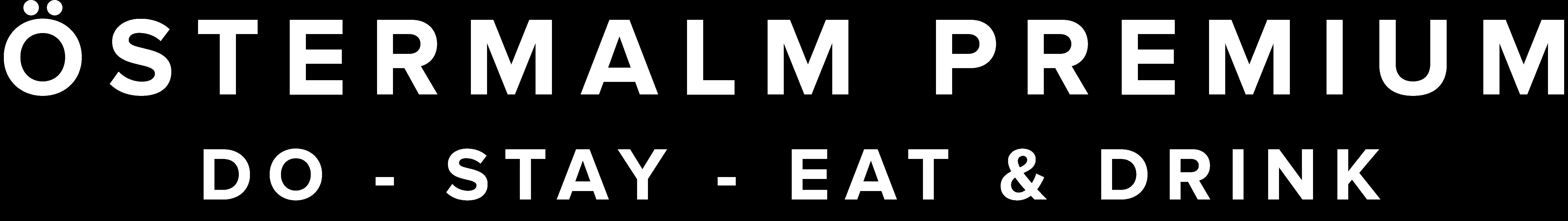 Logo Östermalm Premium - Do - Stay - Eat & Drink - @ostermalm #östermalm - ostermalm.com
