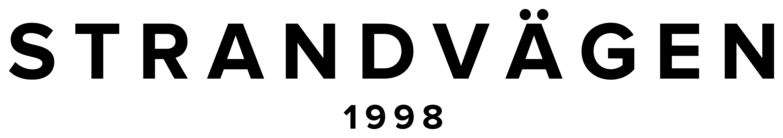 Logo Strandvägen - Est. 1998 - @strandvagen - strandvagen.com