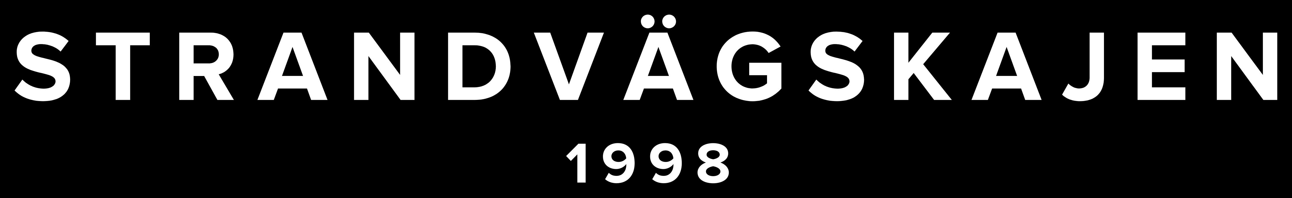 Logo Strandvägskajen - Est. 1998 - @strandvagskajen - strandvagkajen.se