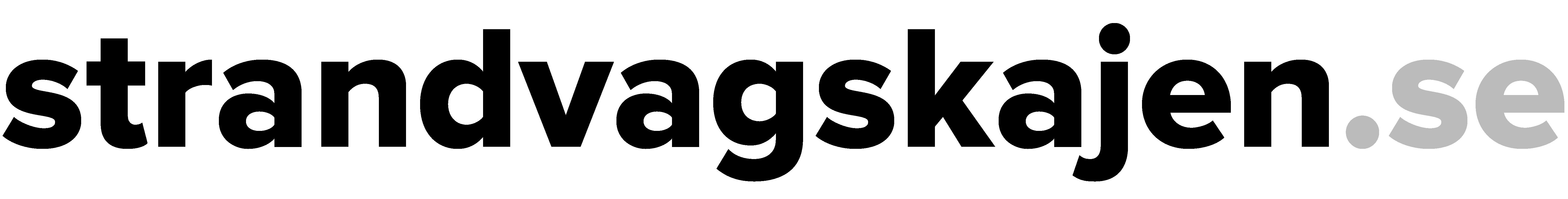Logo Strandvägskajen - @strandvagskajen - strandvagkajen.se