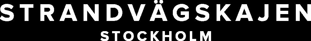 Logo Strandvägskajen, Stockholm - @strandvagskajen - strandvagskajen.se