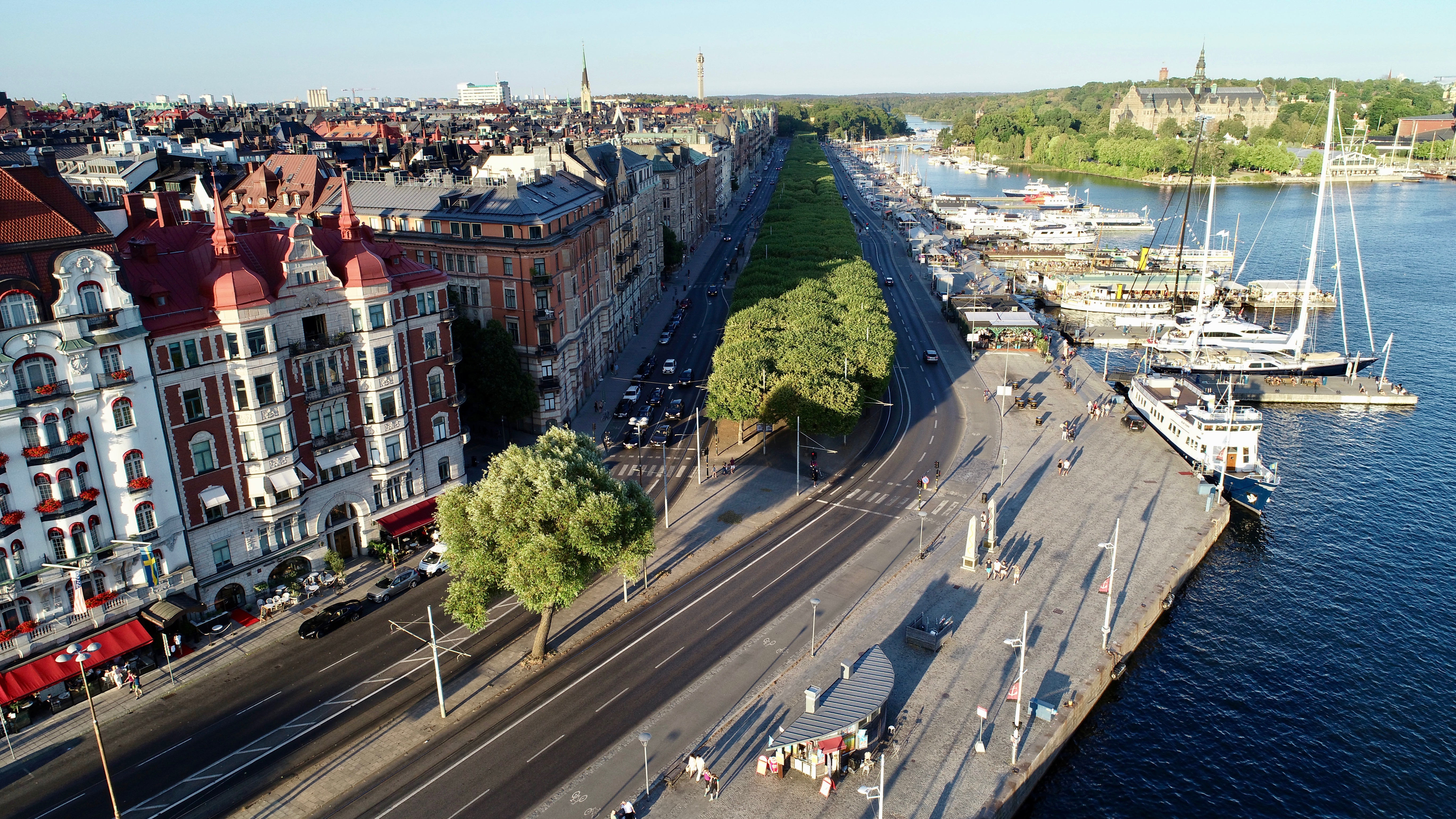 Strandvägskajen, Stockholm - @strandvagskajen - strandvagskajen.se